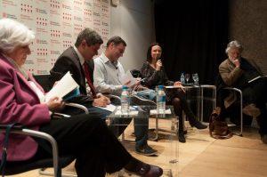 Foto del día de la presentación en Madrid